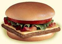 Jr. Bacon Cheeseburger
